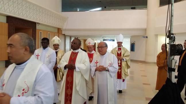 Entrance Procession: Bishop's Ordination 12/1/2016