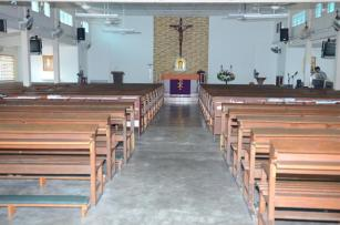 The Nave - View of the Sanctuary